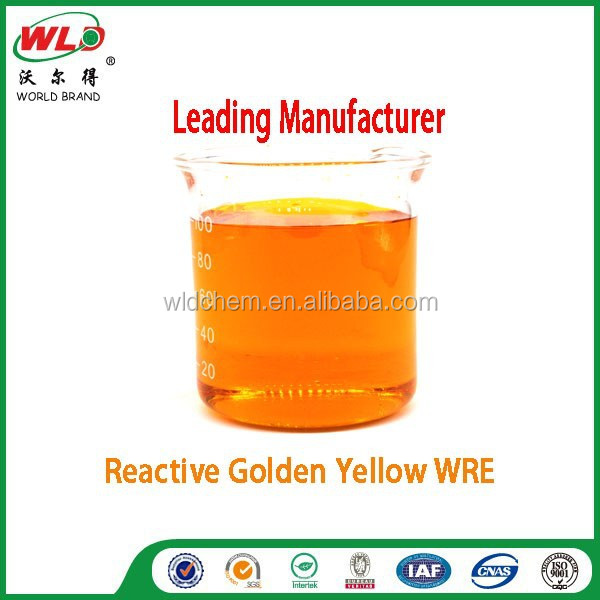 Reactive Golden Yellow WRE cotton fabric dye