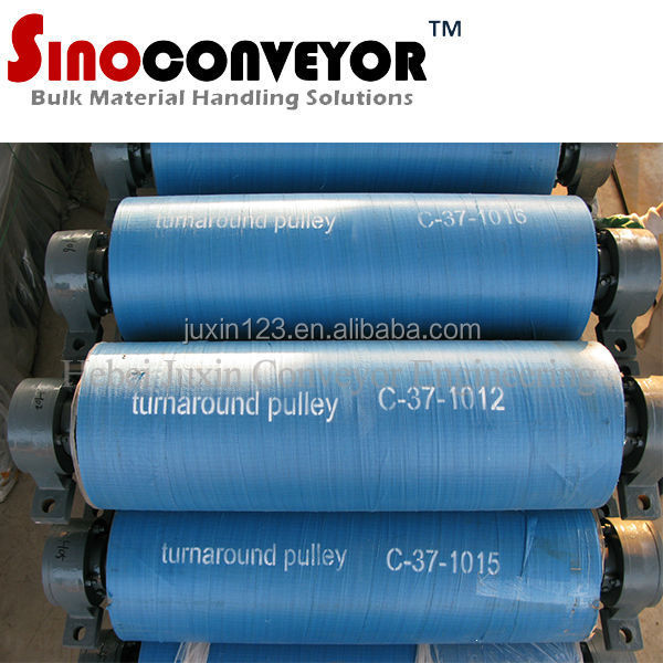 carbon steel material Top sale cheapest CE ISO belt conveyor snub pulley drum