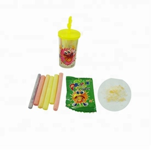 Ice Cream Bottle Toy Filled 4G Fruity CC Stick Candy 1G Popping Candy Magic Pop Candy