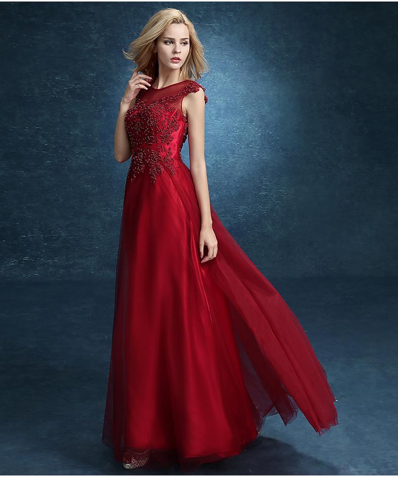 Outfit Vestido Largo Vino Cabeqqcom