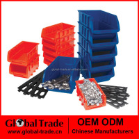 15pc Stackable Trays Wall mounted system workshop storage Multi functional organiser system T0003