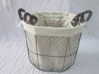 Better Homes and Gardens Medium Chicken Wire Basket, Black