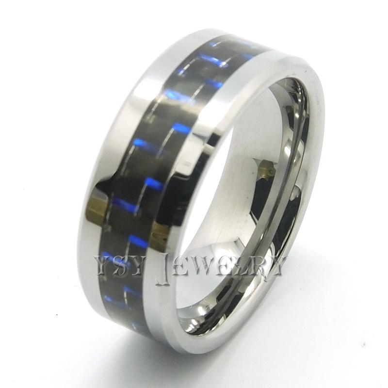 Get Quotations High Quality Tungsten Carbide Ring Mens Jewelry Wedding Band Semi Mounts White Gold