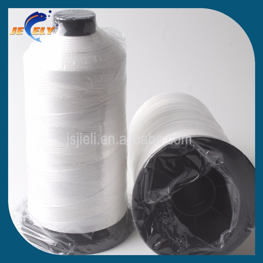 210D,400D,600D,800D,1000D,1200D 3weave UHMWPE Sewing Thread for webbing/strap/fabric/cloth/bag/garment