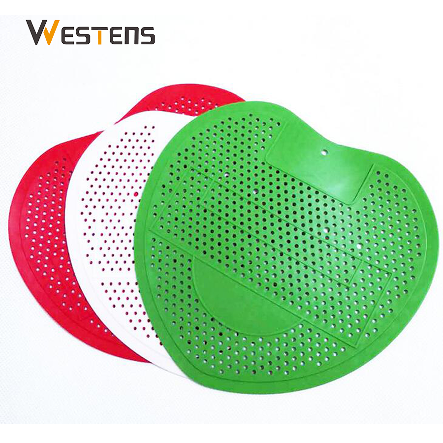 Toilet EVA Plastic Disposable Fragrance Wave Urinal Screen Mat And Deodorizer