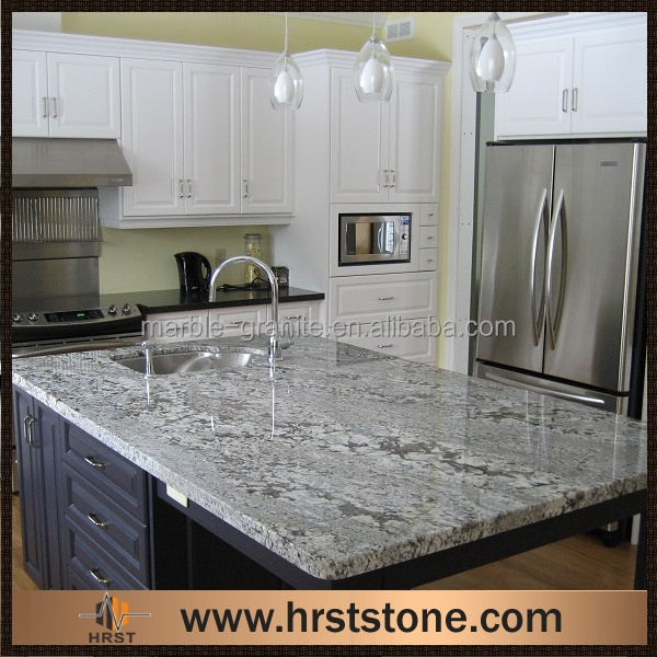 Gray Granite Kitchen: Polished Bianco Antico Granite Grey Slabs