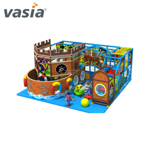 Pirate ship series Indoor playground for kids game Children Equipment