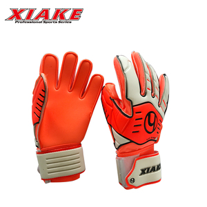 Custom Wear-resistant Sports Protection Latex Football Goal Keeper Gloves