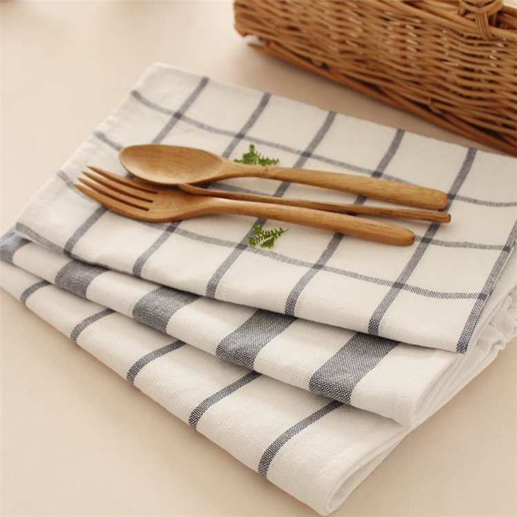 Hot sale Cheap decorative Modern acrylic Wedding table Plain embroidered woven cloth napkin