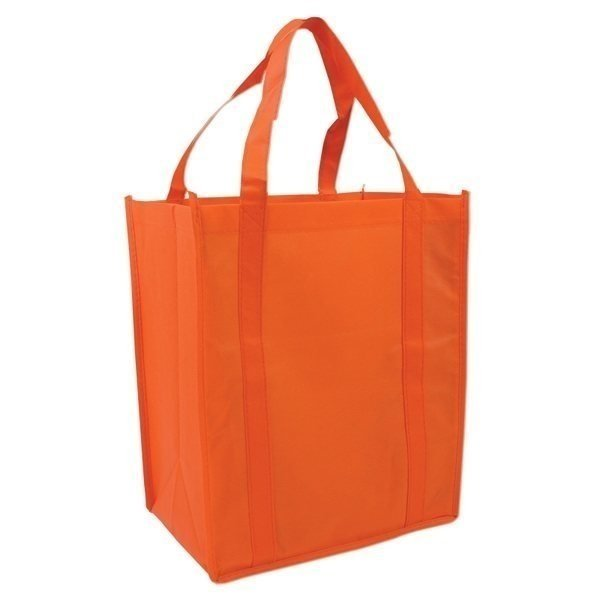 Custom logo printed reusable non woven tote shopping bag with factory price