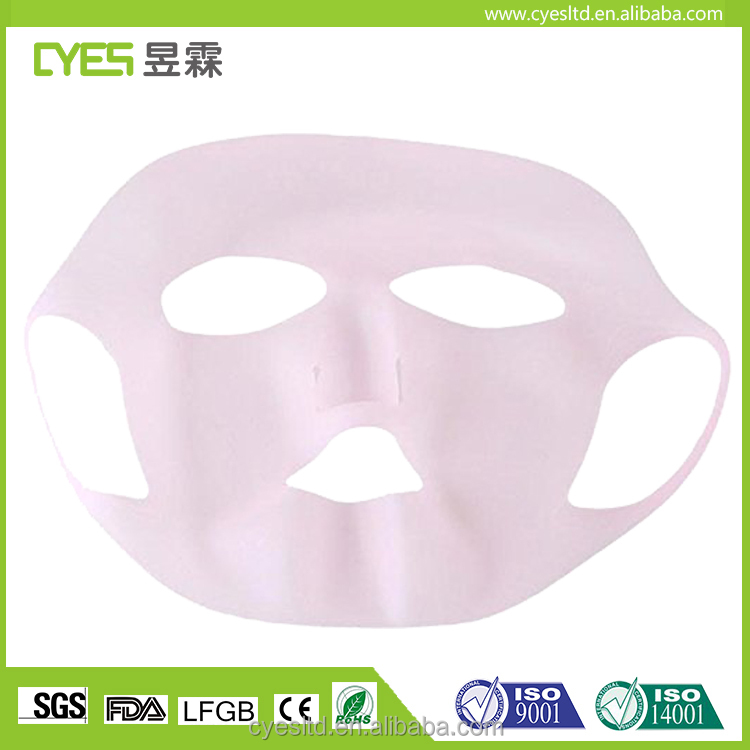 Hgih Quality Prevent Womens Water Evaporation Beauty Silicone Facial Mask