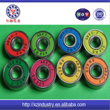 Long board skateboard 608 bearings with high quality