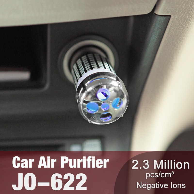 2020 New Arrival Gift Items Make Air Perfume For Car Trending Mini Portable Cooperate Gift Product (Car Air Purifier JO-623)