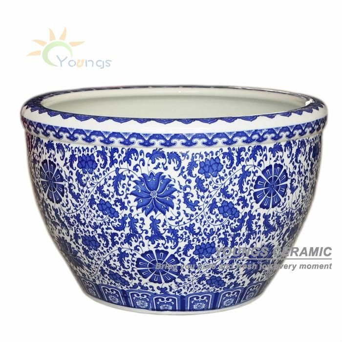 Chine Antique Bleu Blanc En C 233 Ramique Porcelaine D 233 Coratif