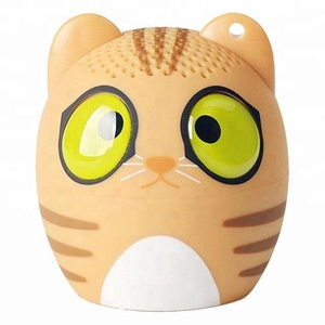 Mini 2018 portable cute animal wireless speaker playing music