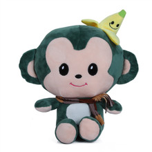 Custom Plush Monkey Toy For Girls