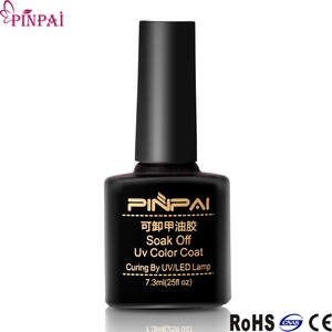 Pinpai brand free sample professional nail art transparent reinforced nail gel