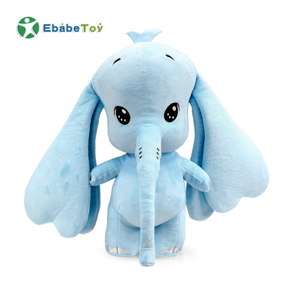 Plush toy stuffed animal elephant doll soft toy  long nose kawaii cuddly