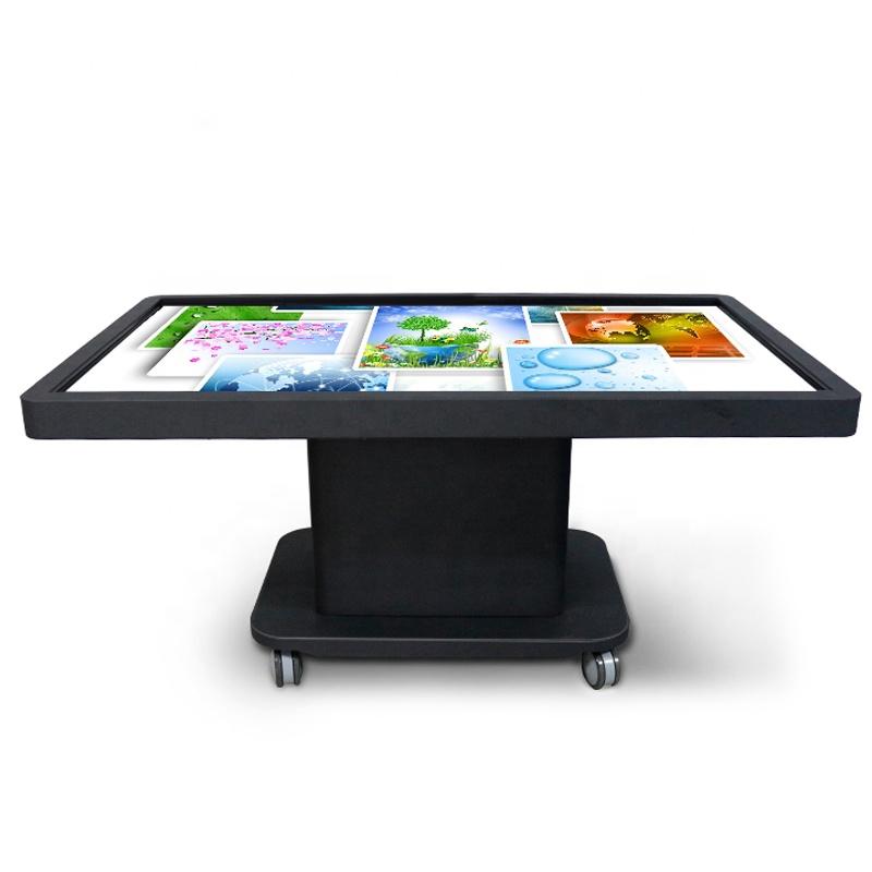"""43 """"55"""" التفاعلية شاشة لمس ذكية طاولة القهوة لمطعم"""