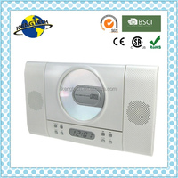 High Quality Vertical CD Player Digital Tuning radio with two detachable speakers