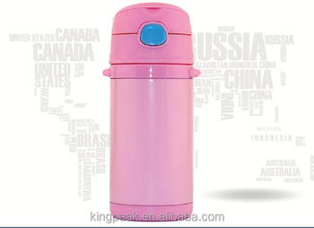 2017 best selling vacuum insulated stainless steel 10 ounce straw bottle pretty kids thermos. Black Bedroom Furniture Sets. Home Design Ideas