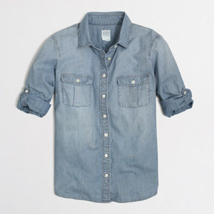 faction design Chambray Shirt