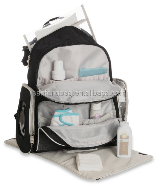 2017 New products best fashion Baby diaper backpack, diaper bag organizer