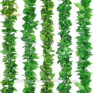 EW-151 Garden decoration multiple styles leaves plants green wall artificial vines