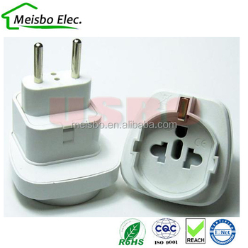 Middle East South America Converter Rotating Electric Plug