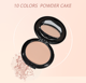 Low MOQ Private label face cake pressed powder foundation Oil-control makeup powder