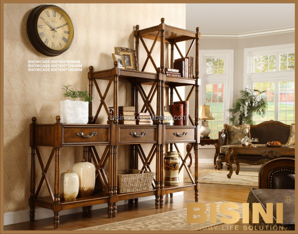 Concise American Design Living Room Wooden Showcase Show Case Product On Alibaba