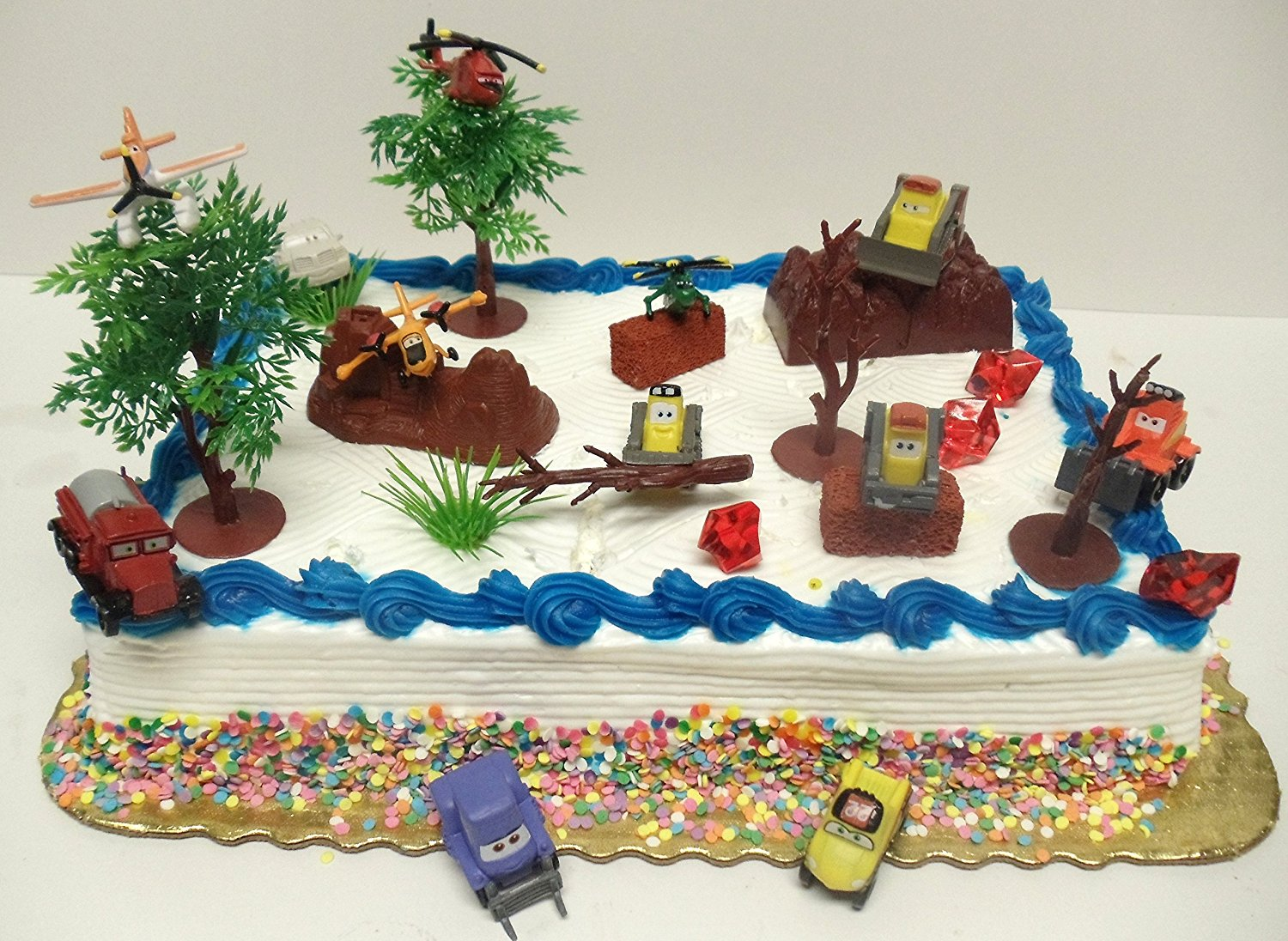 Buy Planes Fire And Rescue 20 Piece Birthday Cake Topper Set