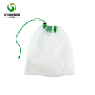 light weight drawstring shopping produce eco net bags for vegetables