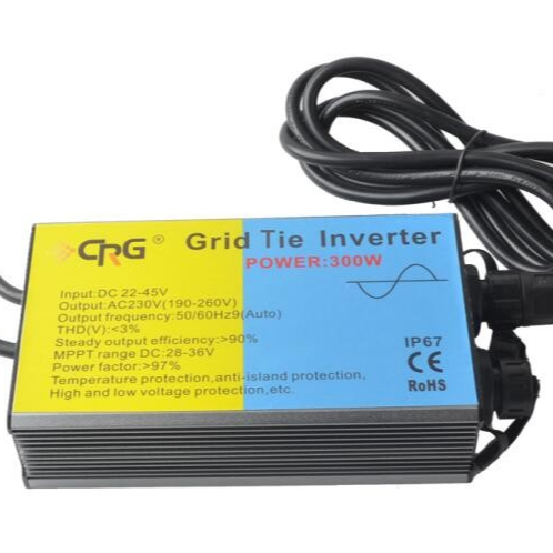 DC AC Pure Sine Wave Power Inverter MPPT Control Waterproof Grid Tie Solar Micro Inverter
