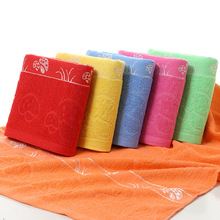100% cotton new design your own jacquard bath towel in china