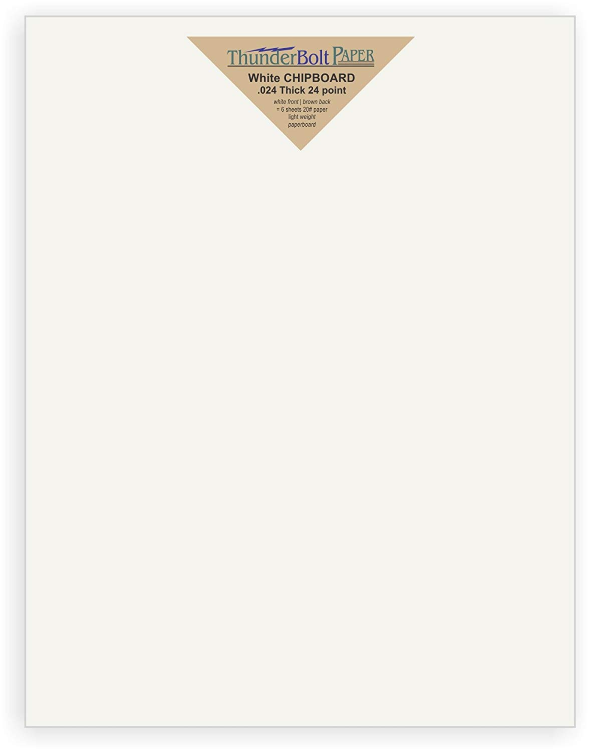 150 Sheets Chipboard 46pt 3 X 5 Inches Medium Weight Photo|Card Size .046 Caliper Thickness Cardboard Craft|Packing Brown Kraft Paper Board point