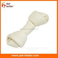 dog bone chews/rawhide knot dog dental care treats wholesale bulk