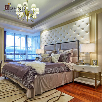 Custom Modern Luxury Modern Hotel Furniture Set Bedroom,Wholesale Hotel  Beds,Wholesale Hotel Furniture, View wholesale hotel beds, Huihe Furniture