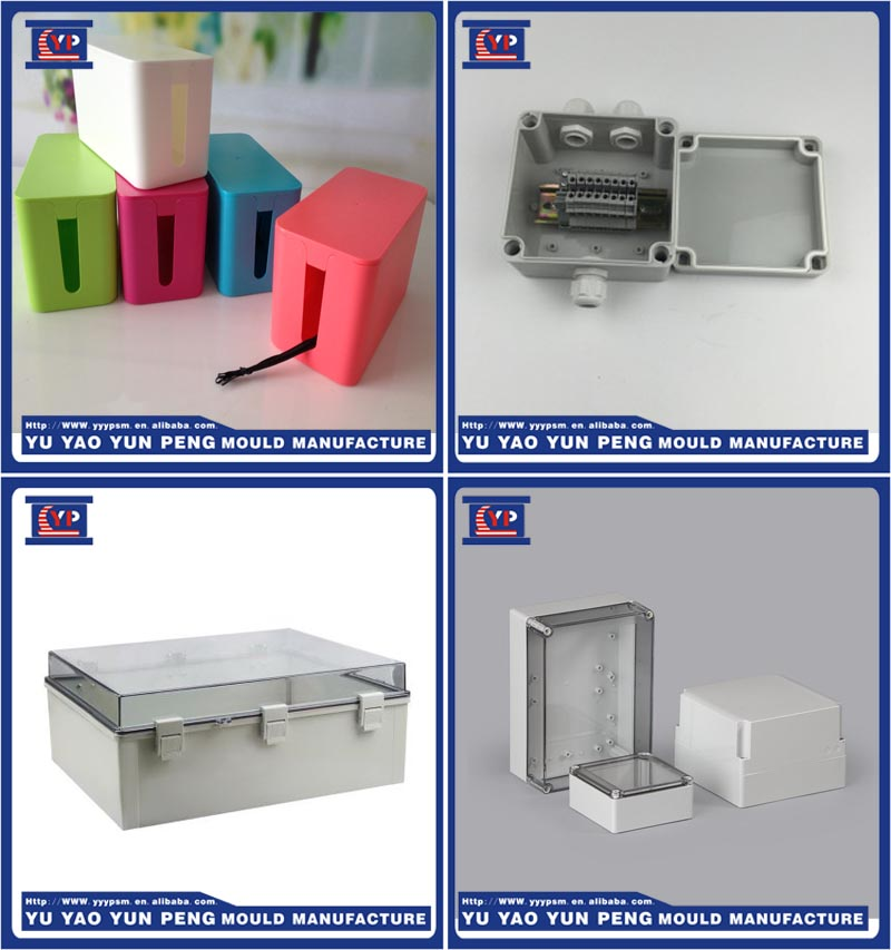 New Design plastic junction box injection mould maker/ABS PP PVC Plastic Injection Electrical Junction Box Mold