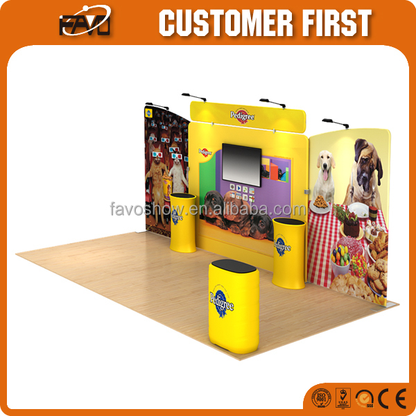 Trade Show Booth Display Factory Manufacture 3X9 Exhibition Booth