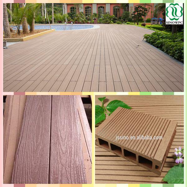 Teak Wood Floor Tile/wpc Decking Floor/recycled Rubber Patio Floor