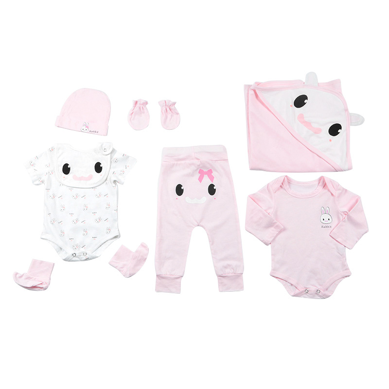 Petelulu Smart Rabbit Infant Clothes Combed Cotton 0-3 Months <strong>New</strong> Born <strong>Baby</strong> <strong>Gift</strong> <strong>Set</strong> Wholesale