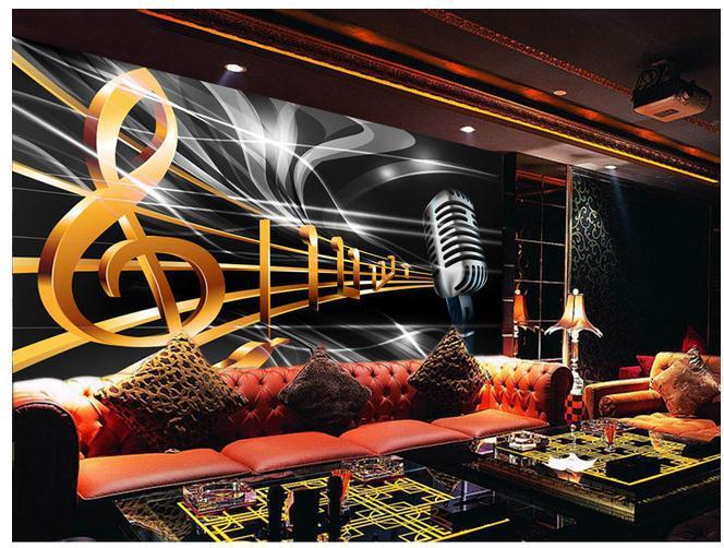 Music Bars Wallpaper: Customize Wallpaper Papel De Parede Dynamic Music Notation