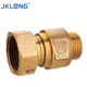1/2' Forged Brass male Thread Compression Water Meter Coupling