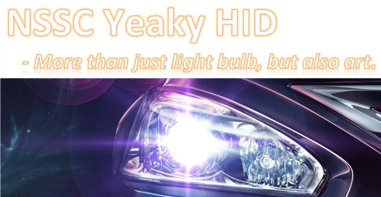 Yeaky HID Xenon Light Kit for car