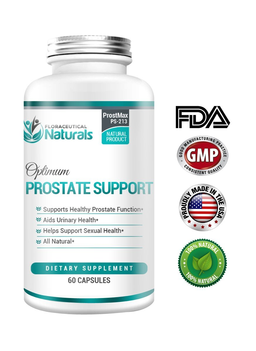 Prostate Health Supplement - Saw Palmetto with Natural Herbs and Vitamins for Prostate Care - Supports BPH, Helps Maintain Urinary Health - 100% GUARANTEED. 60 Capsules, Gluten Free, Non-GMO.