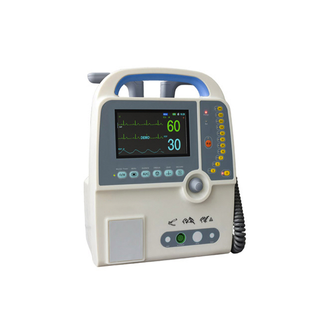 High Quality Medical Hospital Portable AED Defibrillator Monitor HD9000D Price