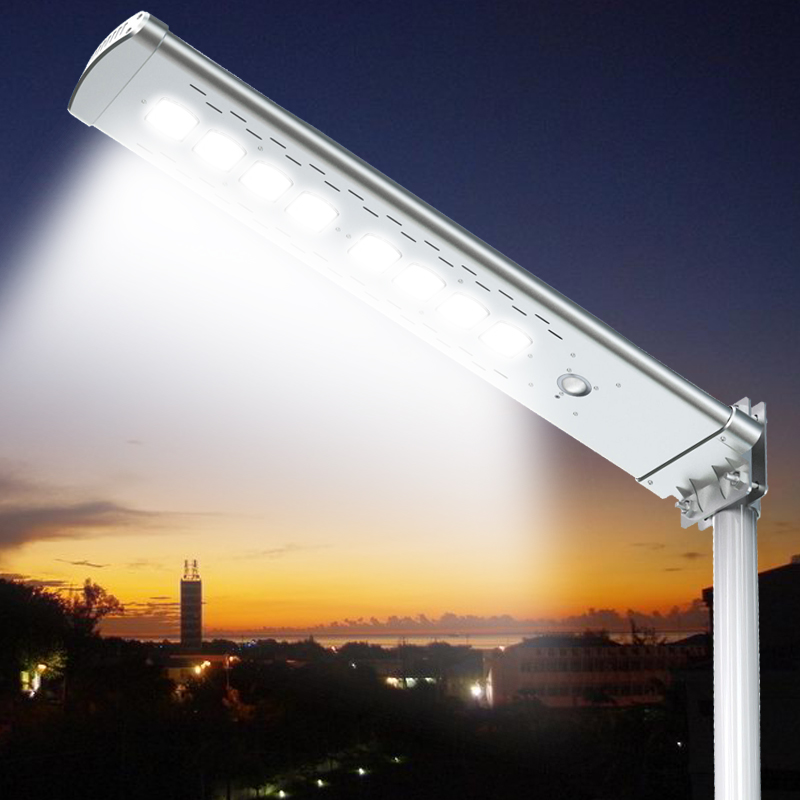 Hot sale integrated led solar street light with motion sensor home lighting outdoor wall lamp China factory