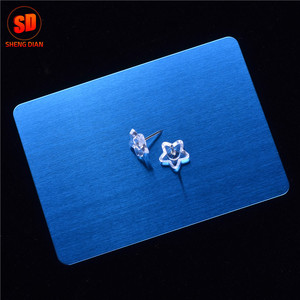 Anti Fingerprint Satin Finished Blue Colour Coated Stainless Steel Sheet Foshan Supplier
