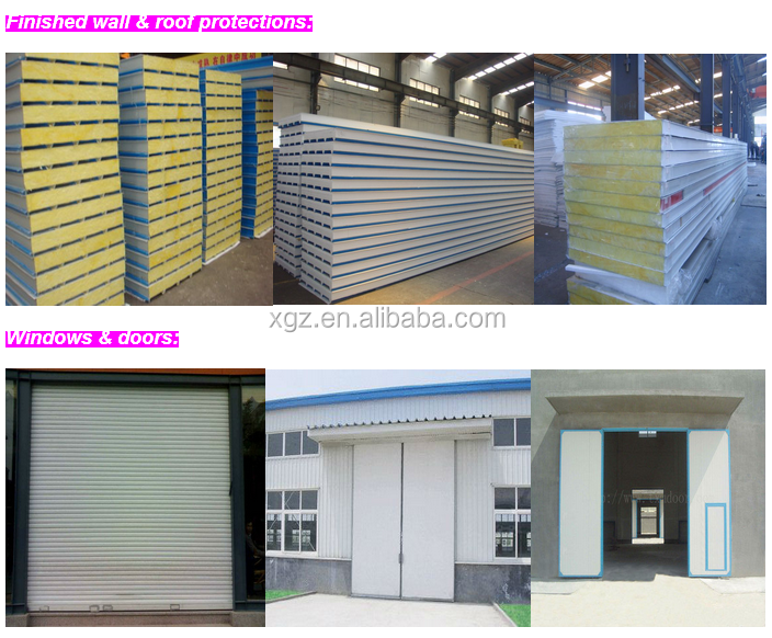 China High Strength Light Construction Design Prefabricated Mineral Water Plant Cost